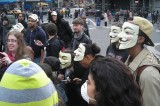 Million Mask March Has Riot Police on Alert in London