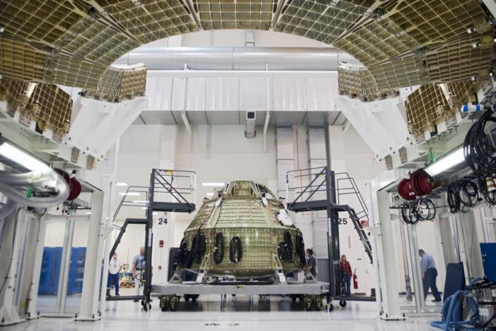 NASA Tests Orion for Trip to Mars