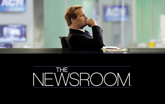 'The Newsroom': Takeover [Review]