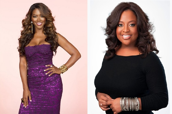 RHOA Kenya Moore and Sherri Shepherd Beef Buids on Twitter