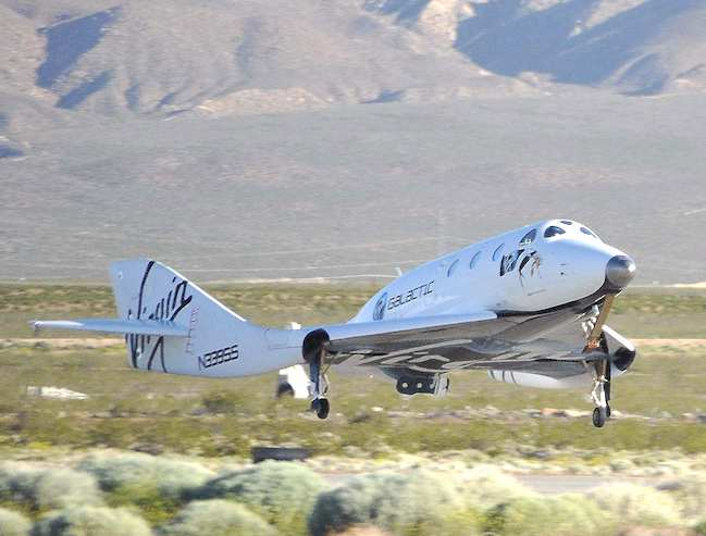 Virgin Galactic Local Sheriff Investigating Crash