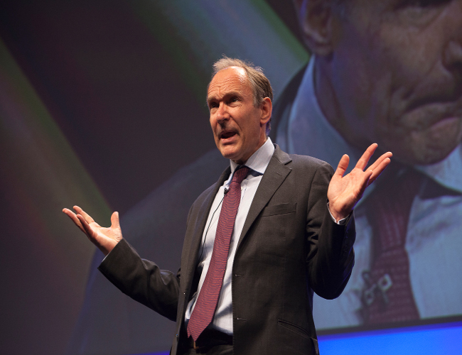 Tim Berners-Lee, Web Inventor Says Access Should Be Human Right