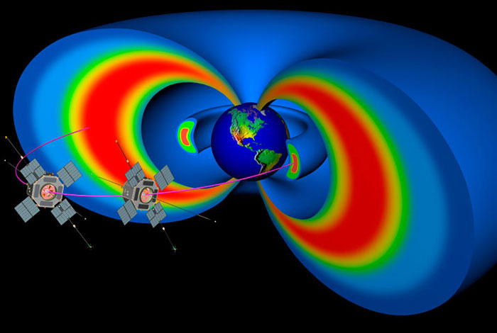 Van Allen Belts Around Earth Have Invisible Shield In Them
