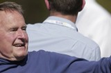 George Bush Senior Hospitalized For Breath Shortness, Remains in Care