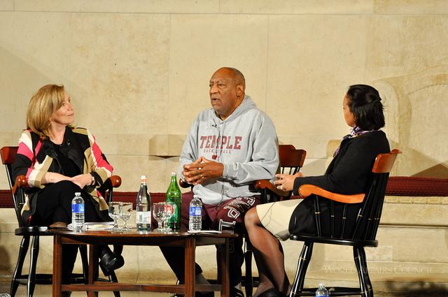 Bill Cosby Walk of Fame Star Vandalized