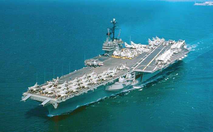 'Top Gun' Aircraft Carrier Scrapped for a Penny