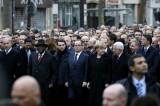 Angela Merkel Cut From Paris March Photos