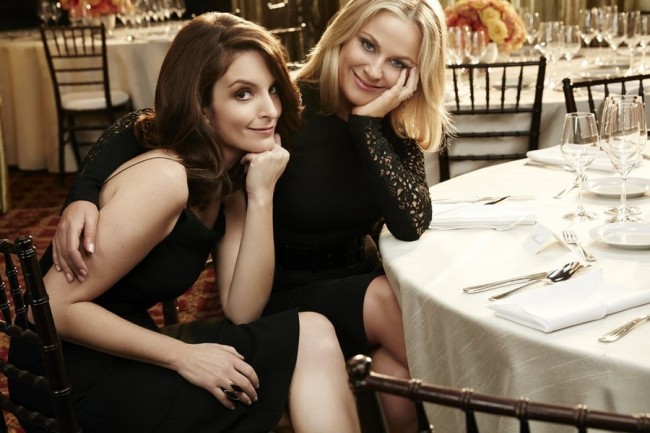 Golden Globes Awards Hosts Tina Fey and Amy Poehler: Three and Out