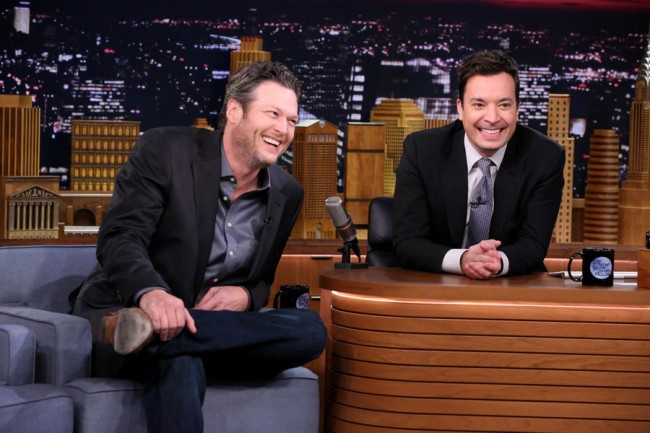 jimmy fallon,blake sheltons,food horizons