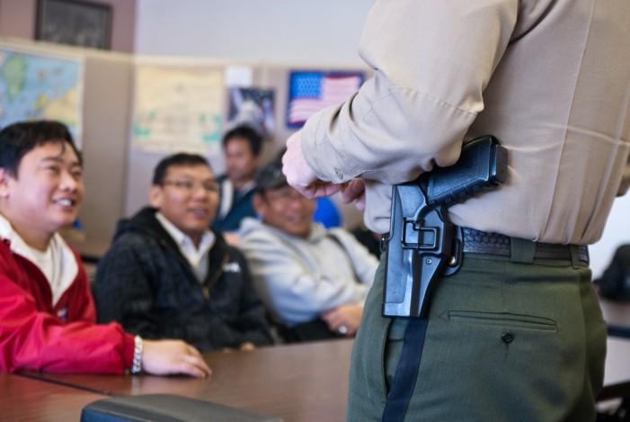 Spokane Valley Police Officer Shoots Suspect
