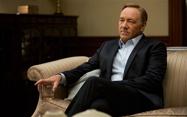 'House of Cards' Frank Underwood Built About to Fall Down? [Video]