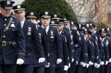 Wenjian Liu Burial Flocked by Officers