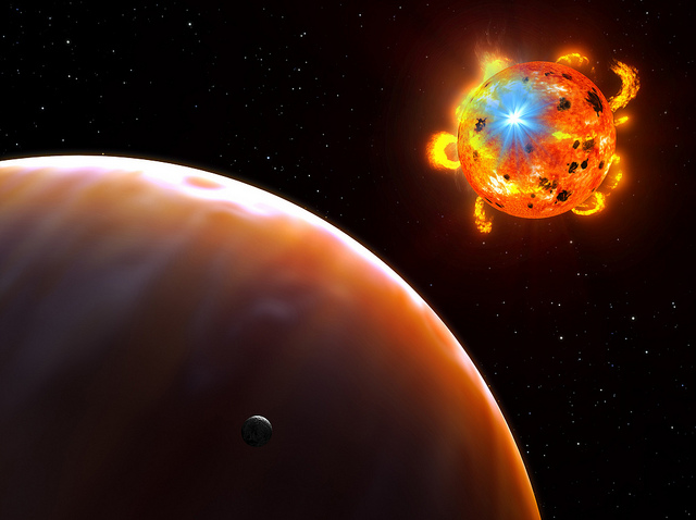 Red Dwarf Stars May Turn Mini-Neptunes in Exo-earths