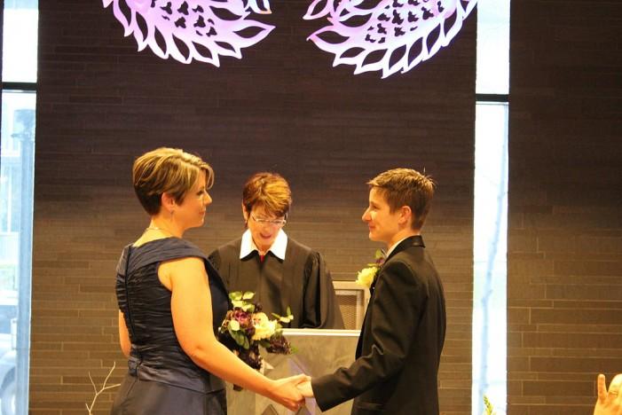 Same-Sex Marriage Gaining Momentum
