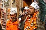 Aam Aadmi Party Sweeps Delhi Elections