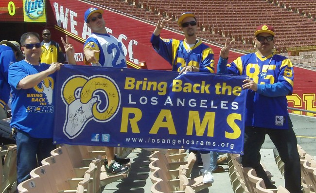 Football Team for Los Angeles a Real Possibility