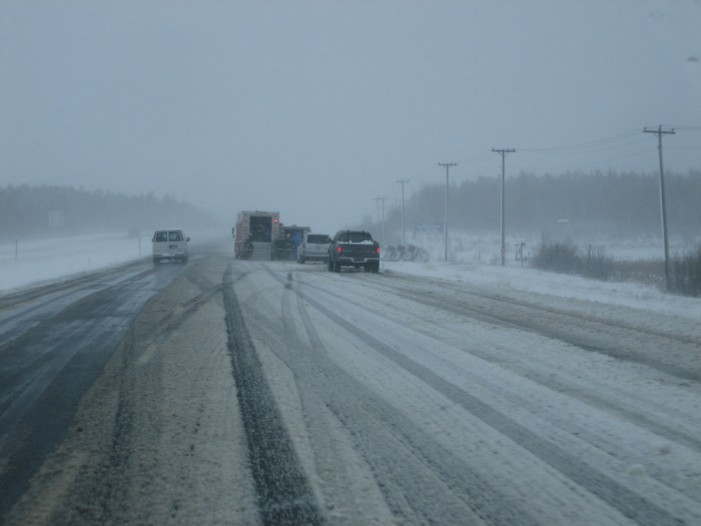 Maine Interstate Closed
