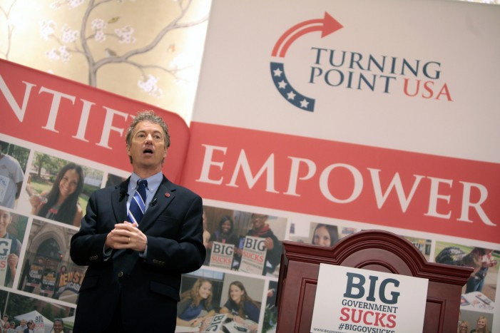 Rand Paul, Sen. Kentucky, Declared Winner at CPAC