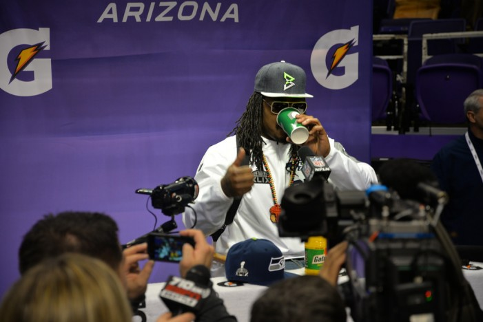 Lynch Signs Extension & Breaks Silence on Super Bowl 2nd & 1