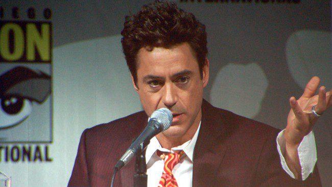 Robert Downey Jr. As Tony Stark Presents Boy With Bionic Prosthetic Arm