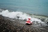 Tsunami Triggered by Island Earthquake