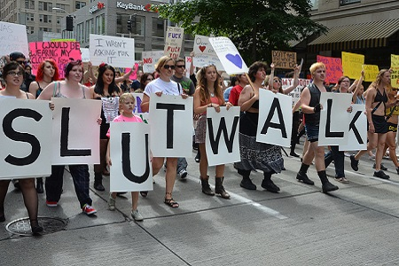 Amber Rose Fights Back With Organized Slut Walk