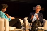 Apple Inc. CEO Tim Cook Talks About Charity and Indiana's Anti-Gay Law