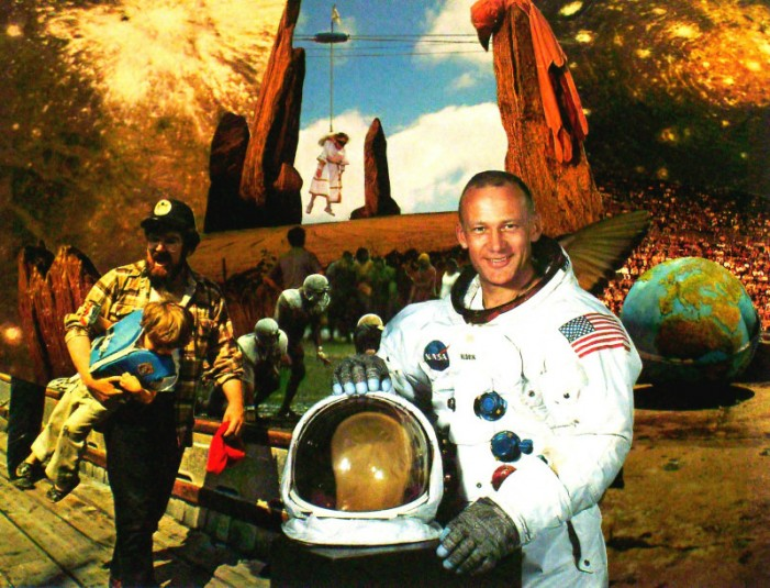 Buzz Aldrin Creates Another Buzz for Space Exploration