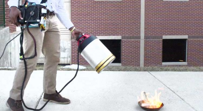 Eureka! New Invention Promises to Revolutionize Firefighting