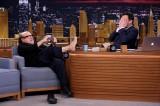 Jimmy Fallon Welcomes Danny DeVito and Zoe Kravitz to Tonight Show