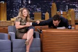 Jimmy Fallon Has Ronda Rousey and Elizabeth Banks on 'Tonight Show'
