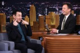 Jimmy Fallon Welcomes Guests Alan Cumming and Carey Mulligan
