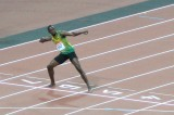 Usain Bolts Back to New York City