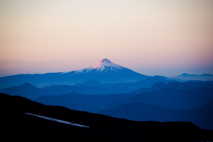Villarrica Volcano in Chile Erupts