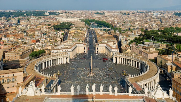 Vatican City at High Risk for Attack