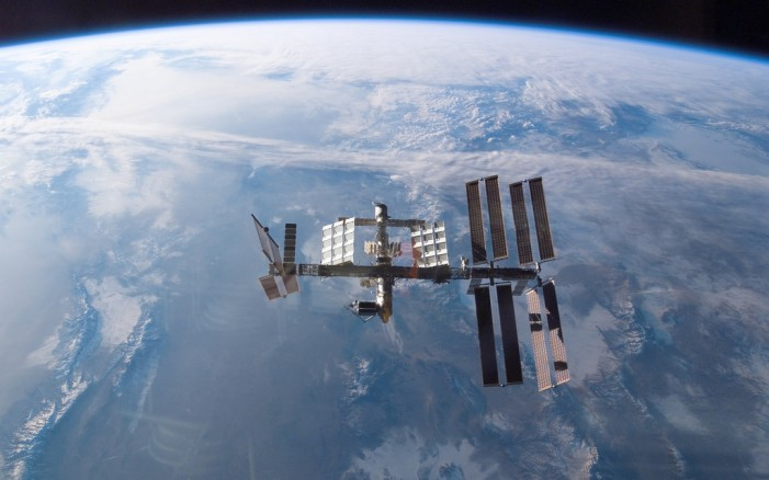 International Space Station Re-Supply Ship Falling Back to Earth