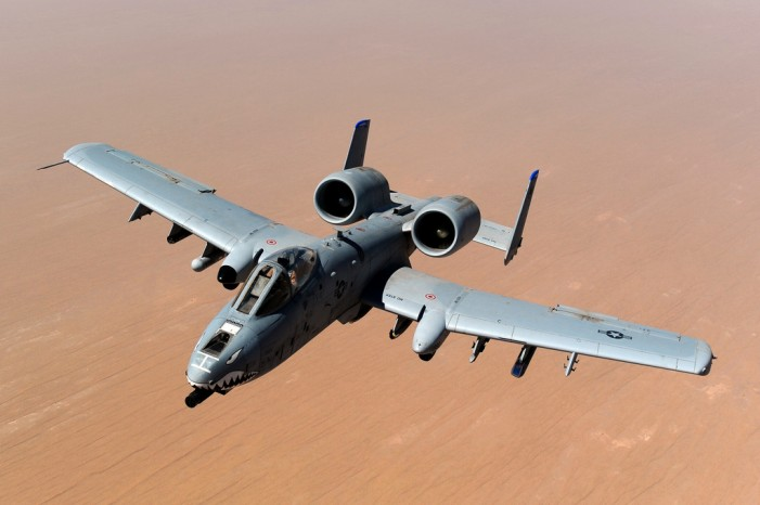 Iraq's Airbase Released A-10 Back Into the Air