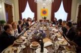 Barack Obama and Family Visit Historical Baptist Church for Easter Service