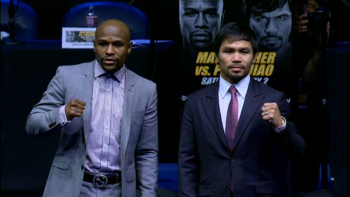 Floyd Mayweather Jr. Camp Claims Manny Moved From First Class to Coach With the Roach