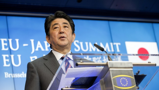 Shinzo Abe Under Immense Pressure to Reaffirm Wartime Apologies