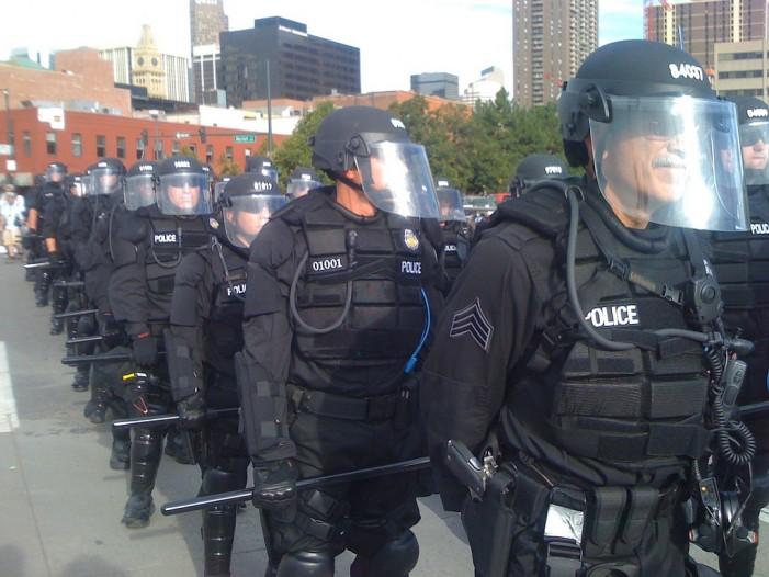 Protest in Denver Turns Violent, Nine Arrested