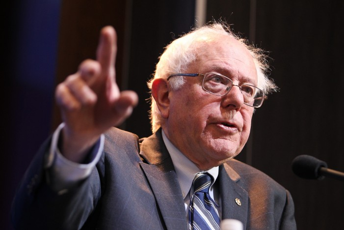 Bernie Sanders Speaks Wealth, Income Inequality, and Climate Change