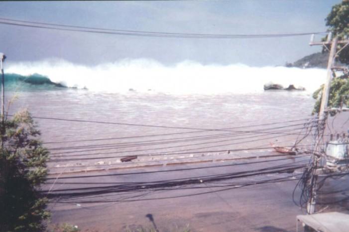 San Andreas Fault Predicts California Tsumami