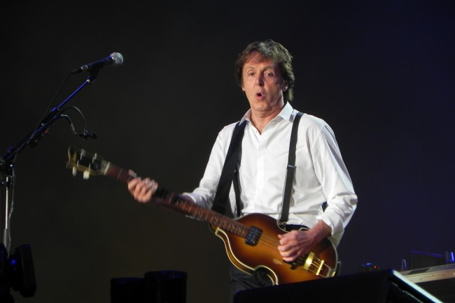 Paul McCartney Gave Up Pot to Set Good Example