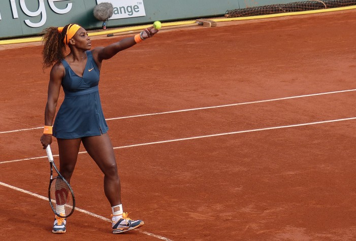 Serena Williams Overcomes Fear to Combat Racism