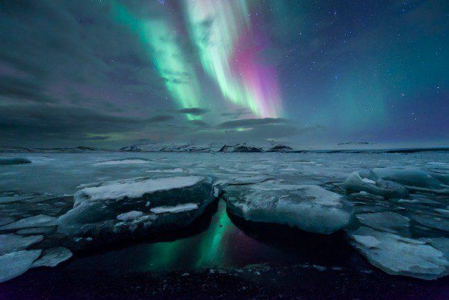 Arctic Sea Nearly Ice Free