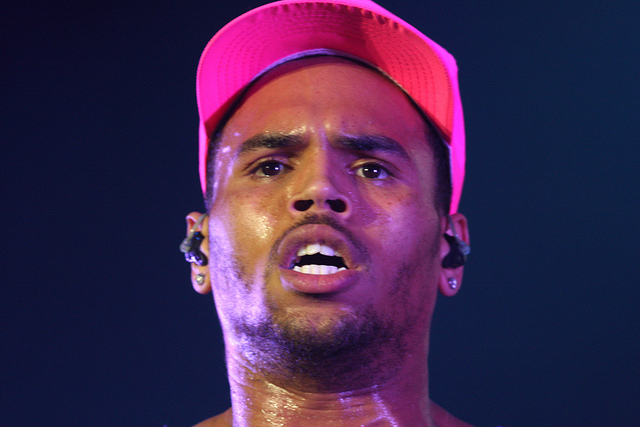 Chris Brown and Tyson Beckford Twitter Feud Over Karrueche Tran