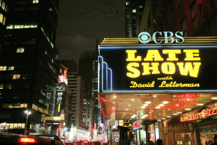 David Letterman Prepares for Last 'Late Show'
