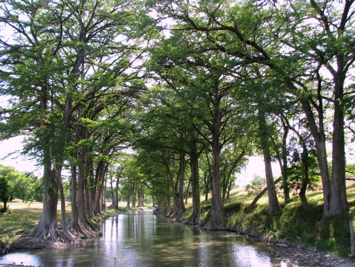 Flooding in Oklahoma Threatens Texas