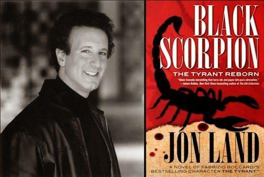 'Black Scorpion: The Tyrant Reborn' by Jon Land [Book Review]